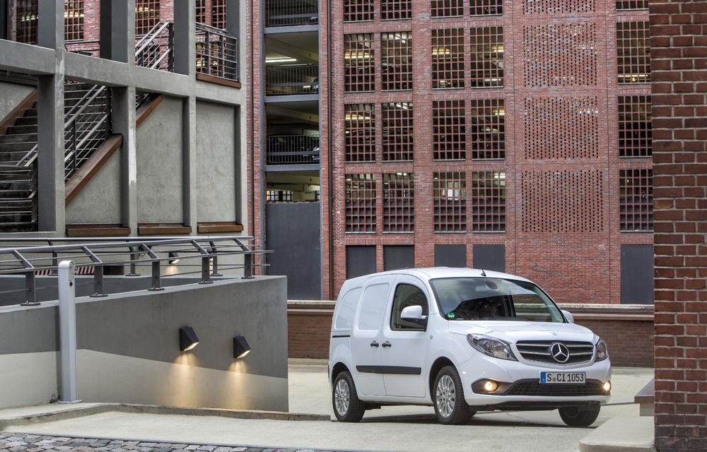 Mercedes-Benz Citan, fratele german al lui Renault Kangoo, primește un motor 1.2 benzină turbo și o transmisie automată - Poza 21
