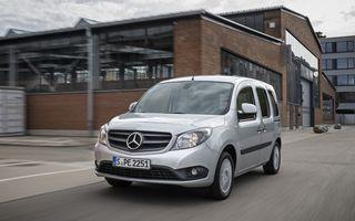 Mercedes-Benz Citan, fratele german al lui Renault Kangoo, primește un motor 1.2 benzină turbo și o transmisie automată