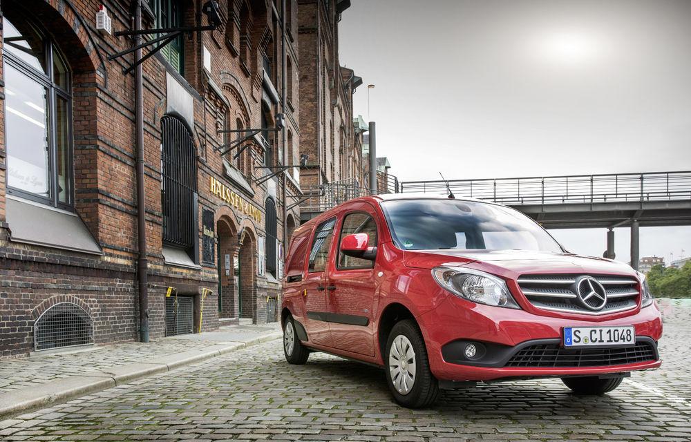 Mercedes-Benz Citan, fratele german al lui Renault Kangoo, primește un motor 1.2 benzină turbo și o transmisie automată - Poza 8