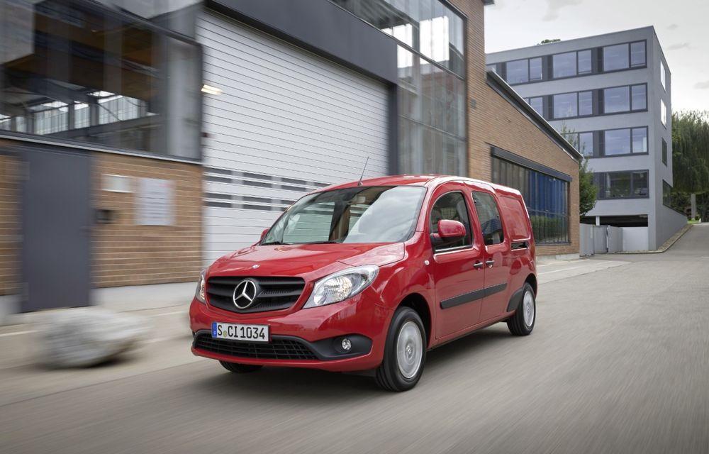 Mercedes-Benz Citan, fratele german al lui Renault Kangoo, primește un motor 1.2 benzină turbo și o transmisie automată - Poza 3