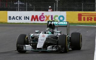 Rosberg a câștigat în Mexic după o secetă de patru luni! Dublu abandon pentru Ferrari