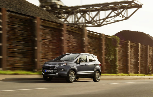 Test drive Ford EcoSport (2015-2017)