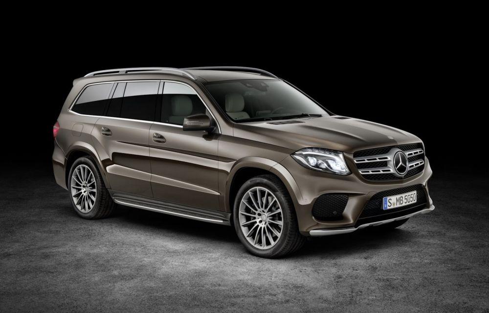 Mercedes-Benz GLS aduce o restilizare cu schimbare de nume pentru fostul GL - Poza 1