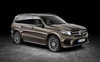 Mercedes-Benz GLS aduce o restilizare cu schimbare de nume pentru fostul GL