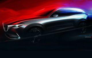 Mazda pregătește cel mai frumos SUV cu șapte locuri din lume: iată primul teaser al lui CX-9