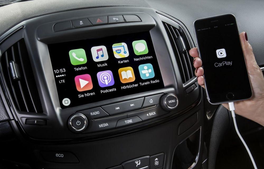 Opel Insignia primește Apple Car Play și sistemul OnStar - Poza 1