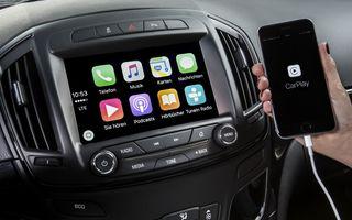 Opel Insignia primește Apple Car Play și sistemul OnStar