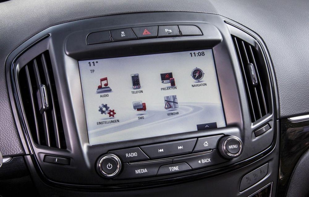 Opel Insignia primește Apple Car Play și sistemul OnStar - Poza 2