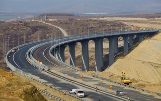 Autostrada Orăştie - Sibiu, redeschisă abia în iulie 2016? Statul susţine că lucrările pot fi terminate mai devreme
