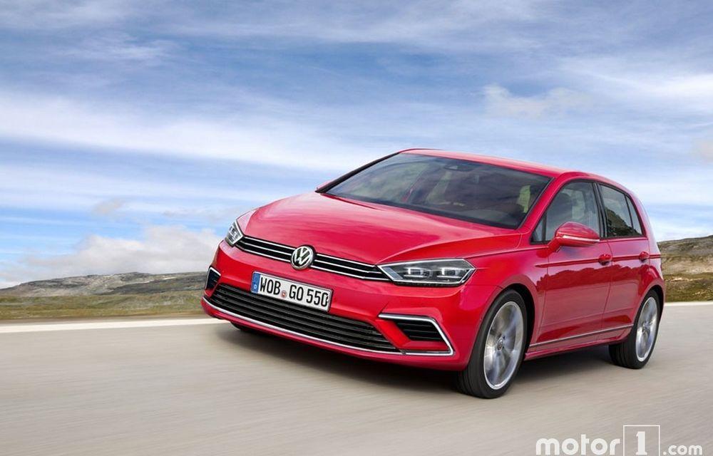 Noul Volkswagen Golf 8: prima ipoteză estetică anunță un design asemănător - Poza 2