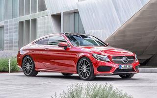 Ce motoare are noul Mercedes Clasa C Coupé? Între 4.1 litri/100 km şi 3.9 secunde pentru 0-100 km/h