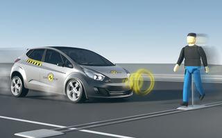 Din ce în ce mai puţine maşini vor lua 5 stele EuroNCAP: sistemele de detecţie a pietonilor vor fi incluse în notă