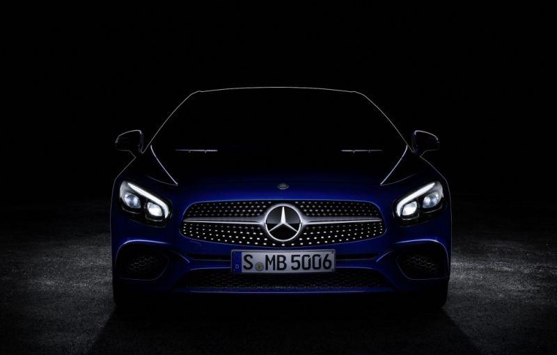 Mercedes-Benz SL va primi un facelift: iată primul teaser - Poza 1