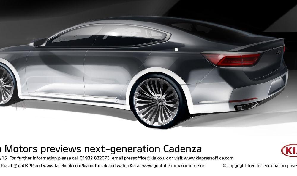 Kia ne arată primele schițe ale lui Cadenza, modelul cu care vrea să se lupte cu greii din segmentul premium - Poza 2