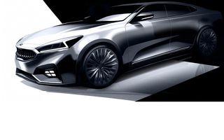 Kia ne arată primele schițe ale lui Cadenza, modelul cu care vrea să se lupte cu greii din segmentul premium