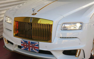 Ghidul unui tuning abominabil: cum profanezi un Rolls Royce Wraith