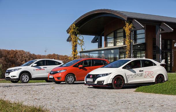 De toate pentru toţi: Honda a lansat în România noile Jazz, Type-R şi HR-V - Poza 76