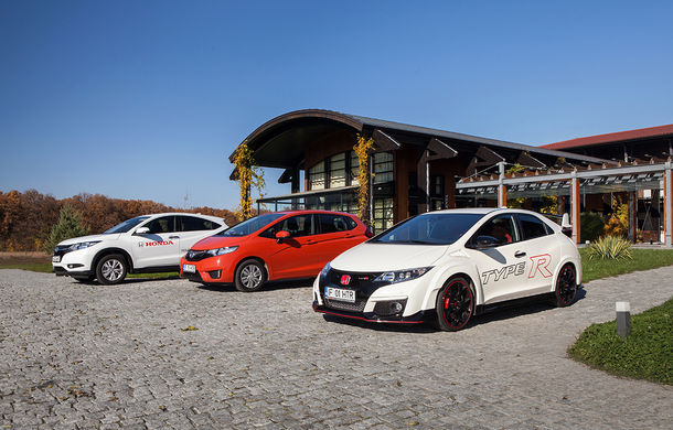 De toate pentru toţi: Honda a lansat în România noile Jazz, Type-R şi HR-V - Poza 77