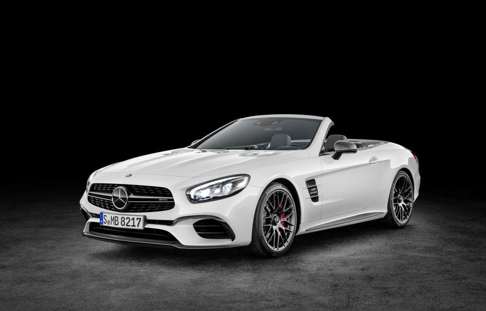 Mercedes-Benz SL facelift: o față nouă și cutie automată cu nouă trepte pentru roadsterul german - Poza 1
