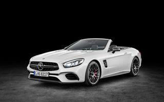 Mercedes-Benz SL facelift: o față nouă și cutie automată cu nouă trepte pentru roadsterul german