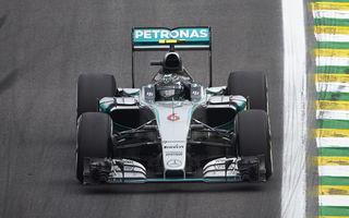 Rosberg, victorie fără glorie la Interlagos. Hamilton și Vettel au completat podiumul