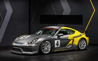 Porsche Cayman GT4 primește o variantă dedicată competițiilor: costă 111.000 de euro fără taxe