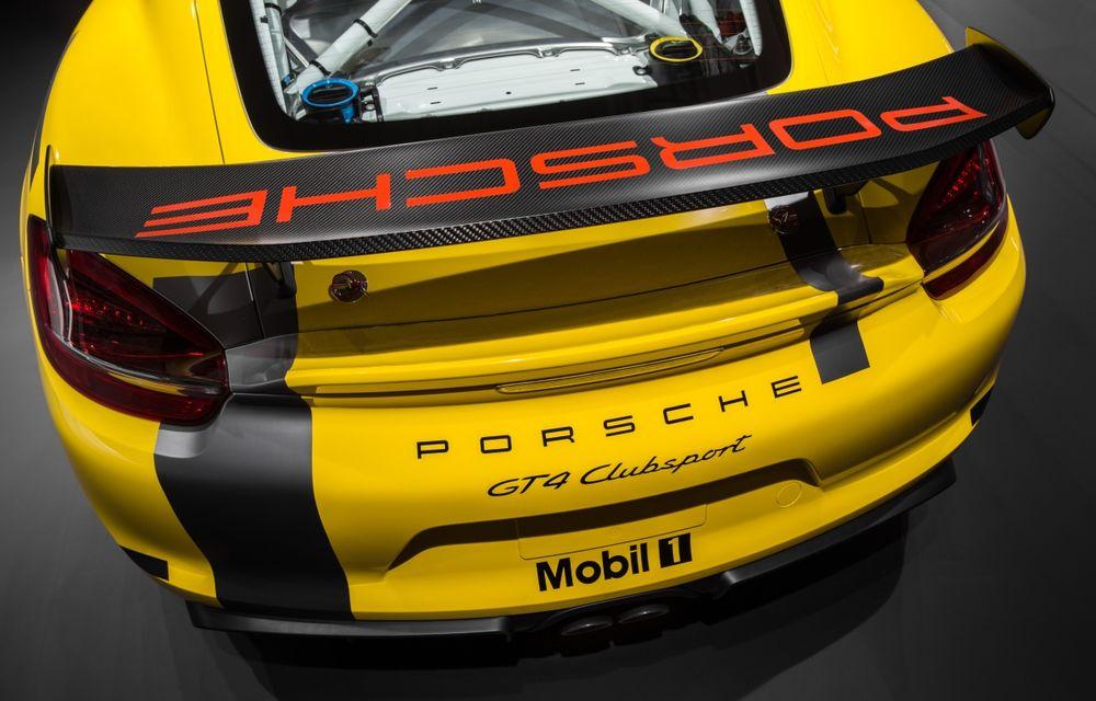 Porsche Cayman GT4 primește o variantă dedicată competițiilor: costă 111.000 de euro fără taxe - Poza 3