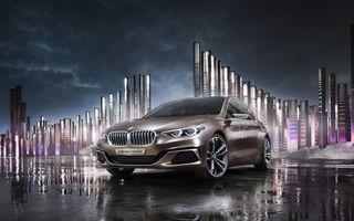 BMW Compact Sedan Concept ne arată viiitorul rival al lui Mercedes-Benz CLA și Audi A3 Sedan