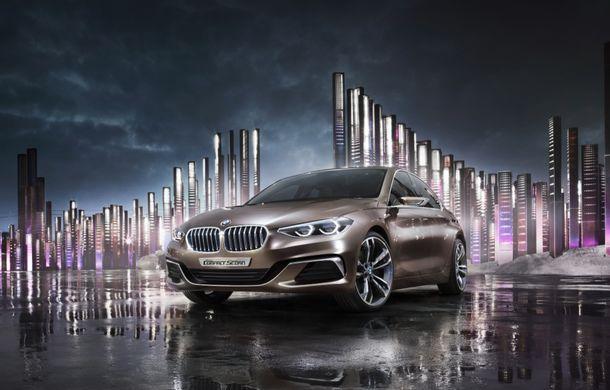 BMW Compact Sedan Concept ne arată viiitorul rival al lui Mercedes-Benz CLA și Audi A3 Sedan - Poza 1