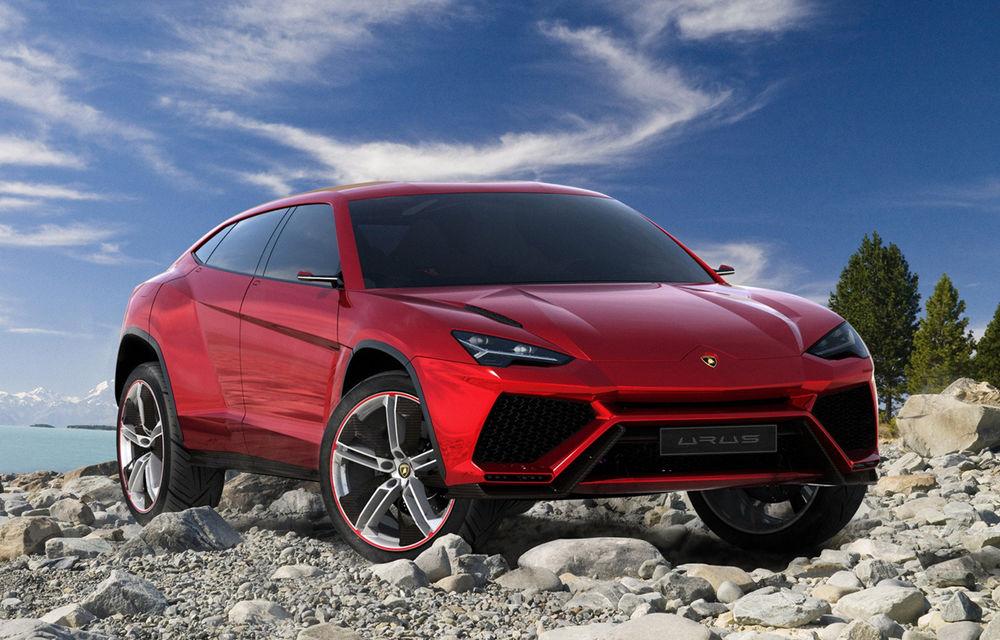 Lamborghini spulberă recordurile de vânzări: 3000 de unităţi în 2015 pentru finanţarea SUV-ului Urus - Poza 1