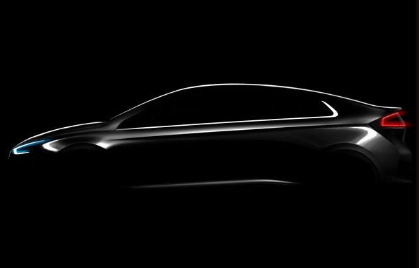 Hyundai rupe barierele: noul Hyundai Ioniq va fi primul model din lume care poate fi hibrid clasic, hibrid plug-in sau pur electric - Poza 1