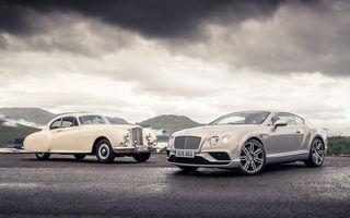 Lecție britanică de istorie: primul Bentley Continental, față în față cu actualul Bentley Continental GT Speed