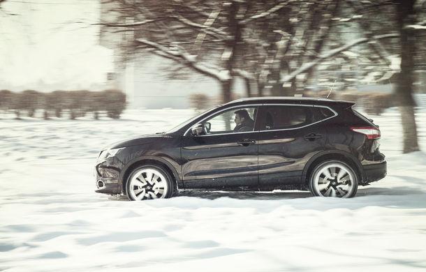 Mașini de vacanță: teste de consum de Sărbători cu Nissan Qashqai 1.6 dCi și BMW Seria 4 Gran Coupe 430d - Poza 11