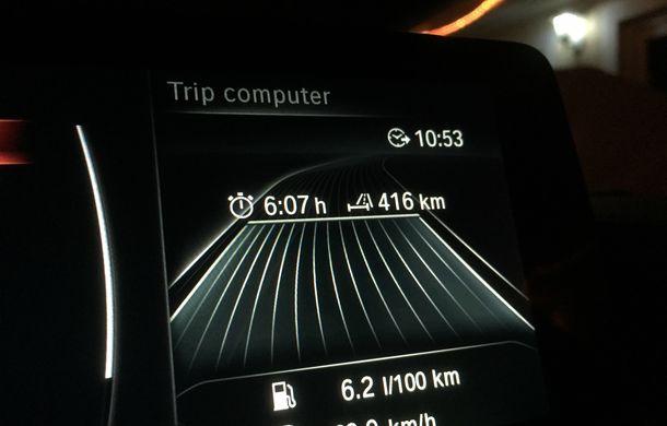 Mașini de vacanță: teste de consum de Sărbători cu Nissan Qashqai 1.6 dCi și BMW Seria 4 Gran Coupe 430d - Poza 24