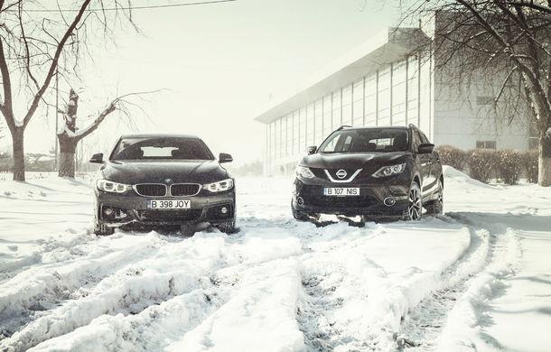 Mașini de vacanță: teste de consum de Sărbători cu Nissan Qashqai 1.6 dCi și BMW Seria 4 Gran Coupe 430d - Poza 3