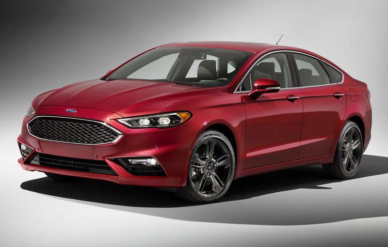 Faceliftul lui Ford Mondeo este dezvăluit deja de versiunea sa americană. Un nou motor pe benzină și interior de Jaguar - Poza 1