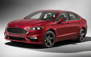 Faceliftul lui Ford Mondeo este dezvăluit deja de versiunea sa americană. Un nou motor pe benzină și interior de Jaguar