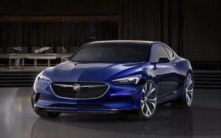 Buick Avista se joacă cu imaginația noastră: așa ar trebui să arate Opel Insignia Coupe?