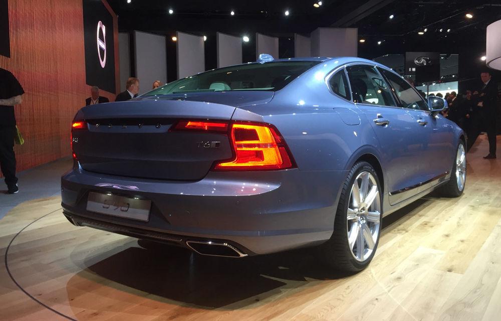 Live from Detroit. Noile Volvo S90 și Mercedes Clasa E s-au duelat în direct la NAIAS 2016 - Poza 7
