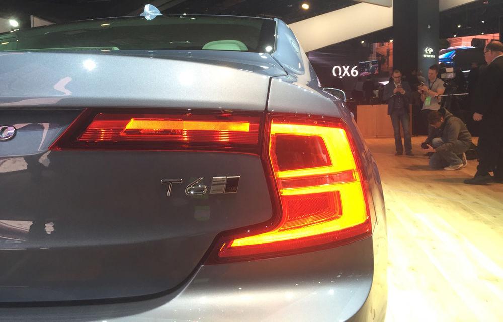 Live from Detroit. Noile Volvo S90 și Mercedes Clasa E s-au duelat în direct la NAIAS 2016 - Poza 8