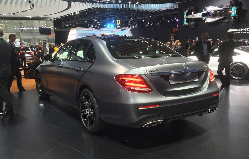 Live from Detroit. Noile Volvo S90 și Mercedes Clasa E s-au duelat în direct la NAIAS 2016 - Poza 15