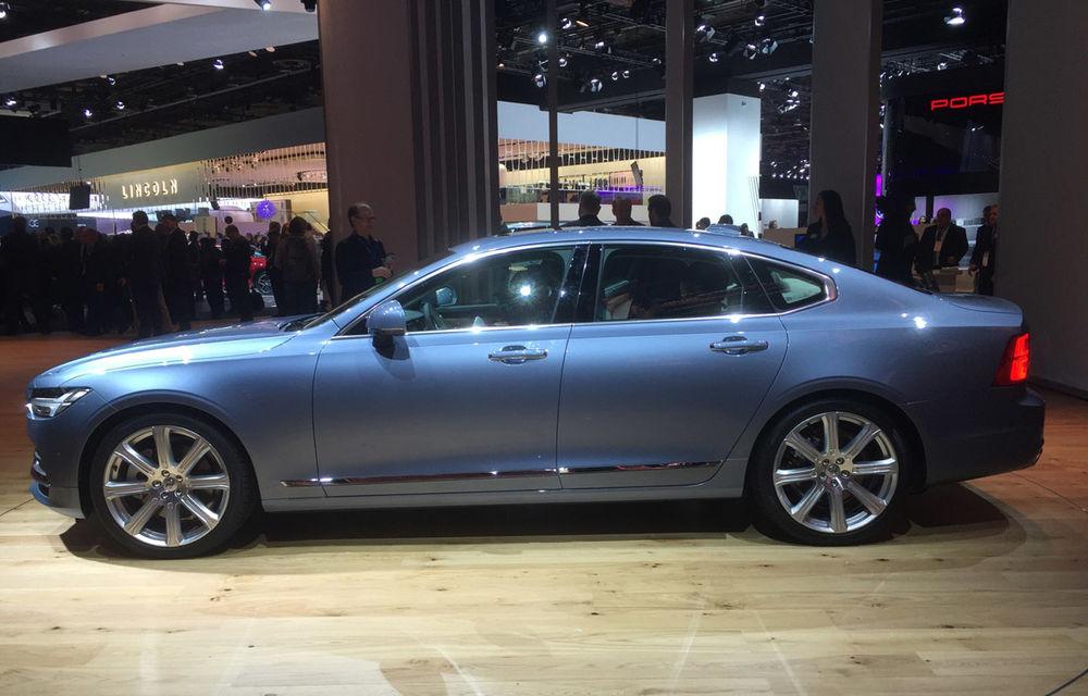 Live from Detroit. Noile Volvo S90 și Mercedes Clasa E s-au duelat în direct la NAIAS 2016 - Poza 5