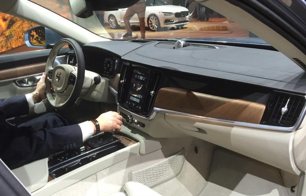 Live from Detroit. Noile Volvo S90 și Mercedes Clasa E s-au duelat în direct la NAIAS 2016 - Poza 10