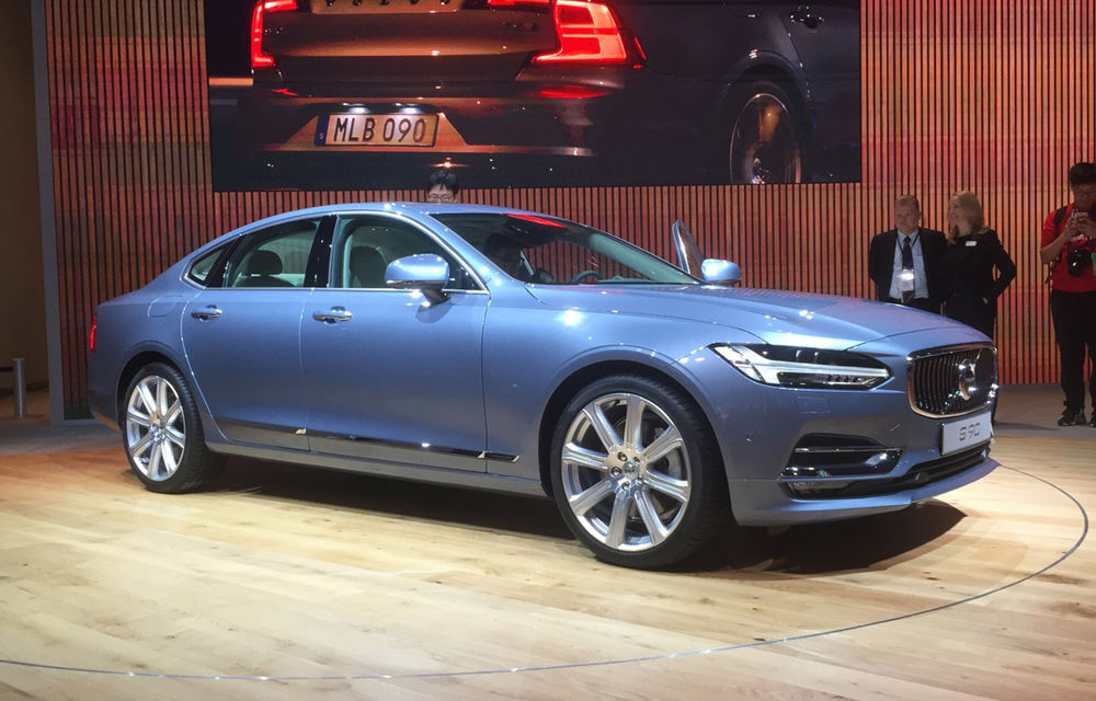 Live from Detroit. Noile Volvo S90 și Mercedes Clasa E s-au duelat în direct la NAIAS 2016 - Poza 2