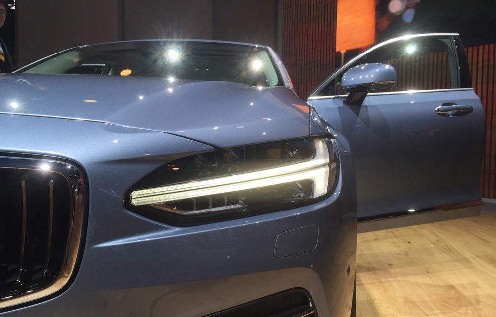 Live from Detroit. Noile Volvo S90 și Mercedes Clasa E s-au duelat în direct la NAIAS 2016 - Poza 4