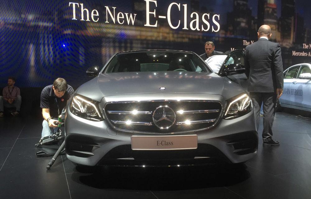 Live from Detroit. Noile Volvo S90 și Mercedes Clasa E s-au duelat în direct la NAIAS 2016 - Poza 12