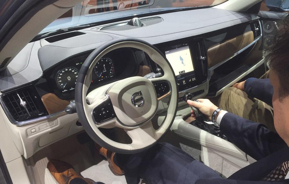 Live from Detroit. Noile Volvo S90 și Mercedes Clasa E s-au duelat în direct la NAIAS 2016 - Poza 9