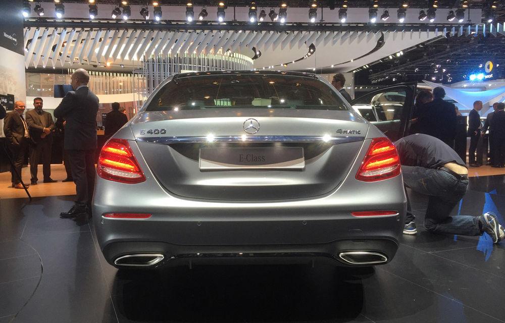 Live from Detroit. Noile Volvo S90 și Mercedes Clasa E s-au duelat în direct la NAIAS 2016 - Poza 14