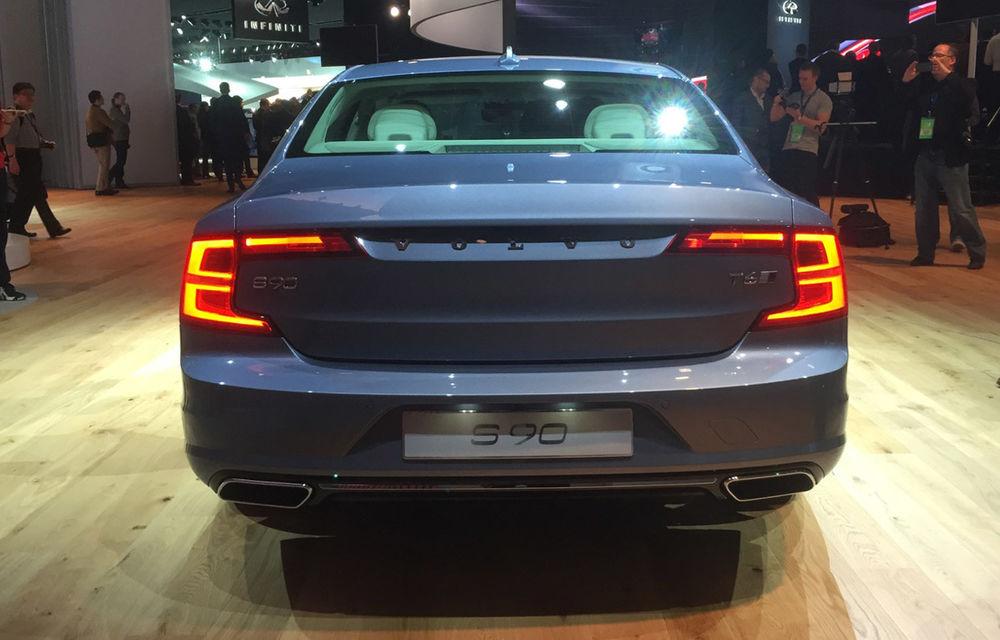 Live from Detroit. Noile Volvo S90 și Mercedes Clasa E s-au duelat în direct la NAIAS 2016 - Poza 6