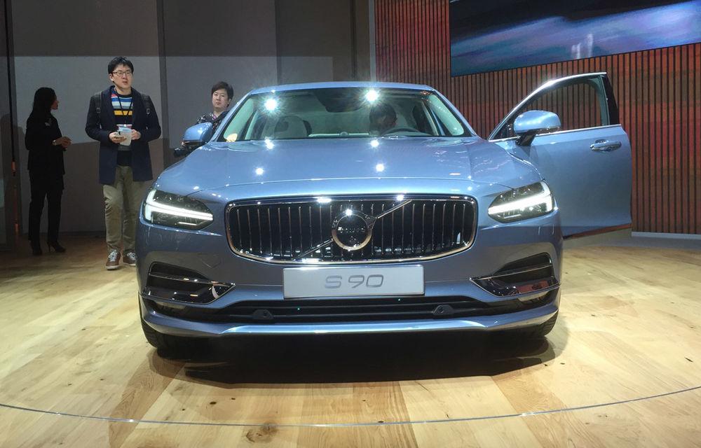 Live from Detroit. Noile Volvo S90 și Mercedes Clasa E s-au duelat în direct la NAIAS 2016 - Poza 3